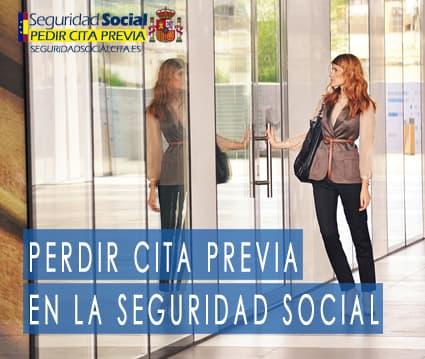 Pedir cita Previa en la seguridad social