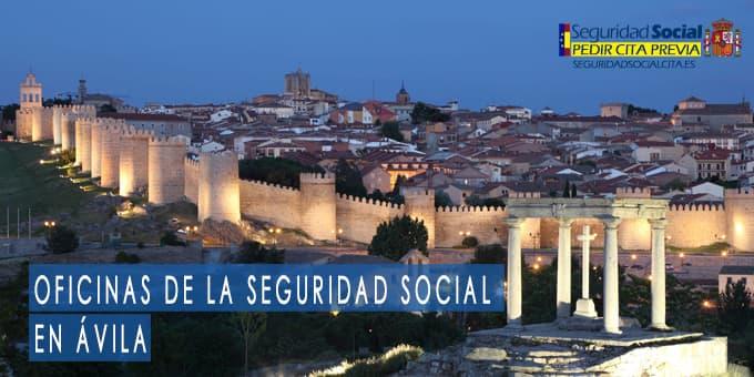 oficina seguridad social Ávila