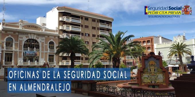 oficina seguridad social Almendralejo