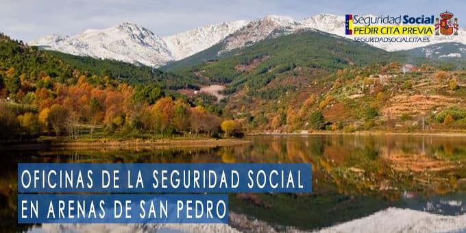 oficina seguridad social Arenas de San Pedro