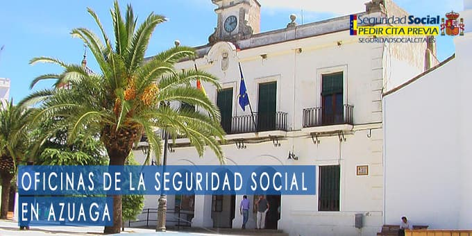 oficina seguridad social Azuaga