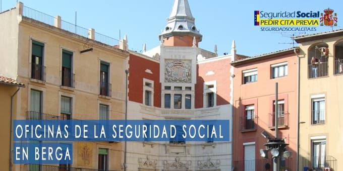 oficina seguridad social Berga