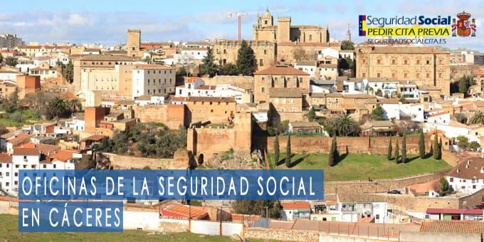 oficina seguridad social Cáceres