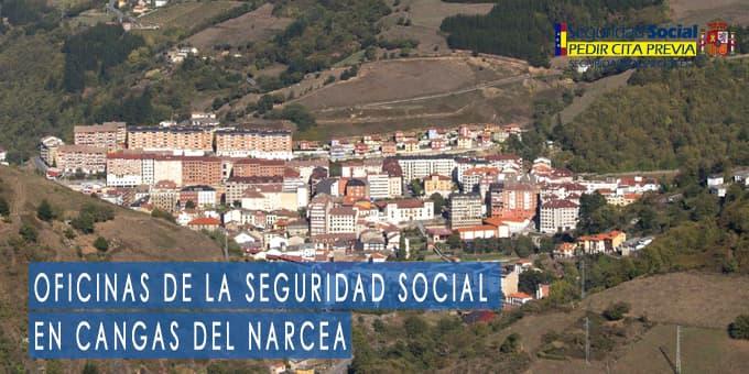 oficina seguridad social Cangas del Narcea