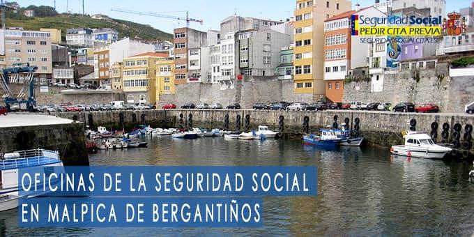 oficina seguridad social Malpica de Bergantiños