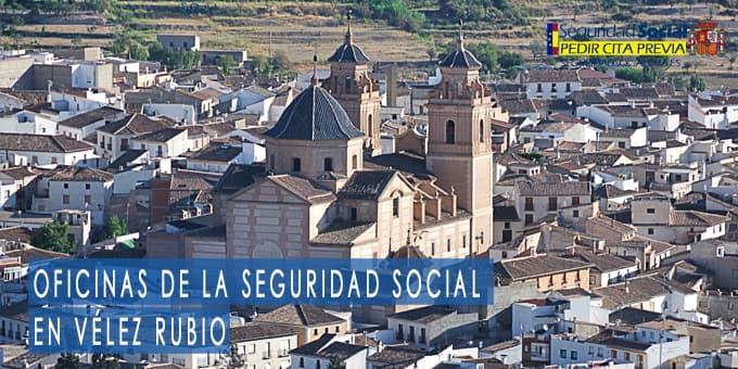 oficina seguridad social Vélez Rubio