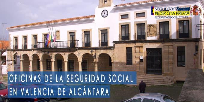 oficina seguridad social Valencia de Alcántara