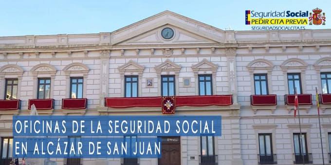 oficina seguridad social Alcázar de San Juan