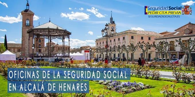oficina seguridad social Alcalá de Henares