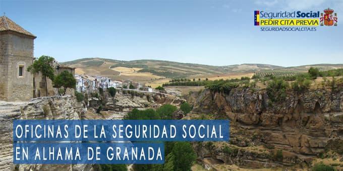 oficina seguridad social Alhama de Granada
