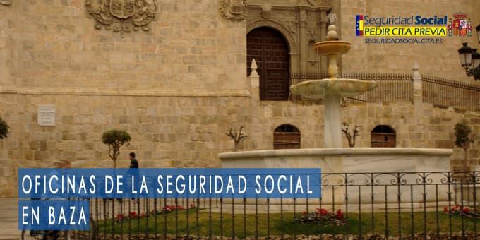 oficina seguridad social Baza