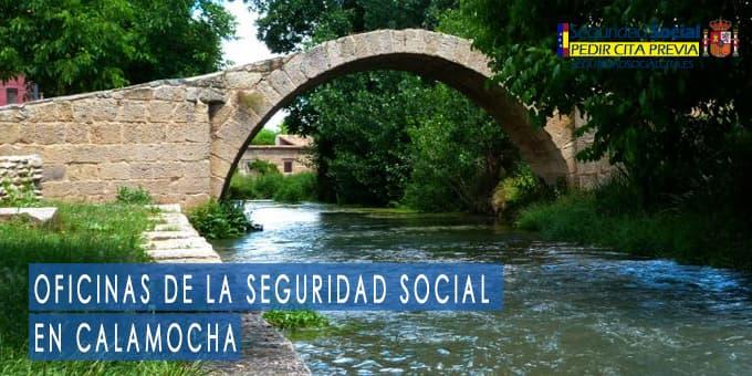 oficina seguridad social Calamocha