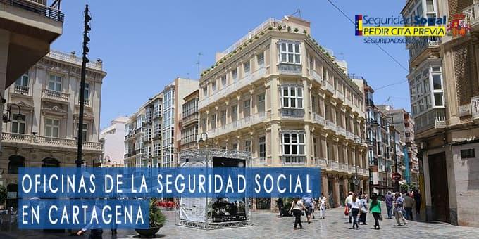 oficina seguridad social Cartagena