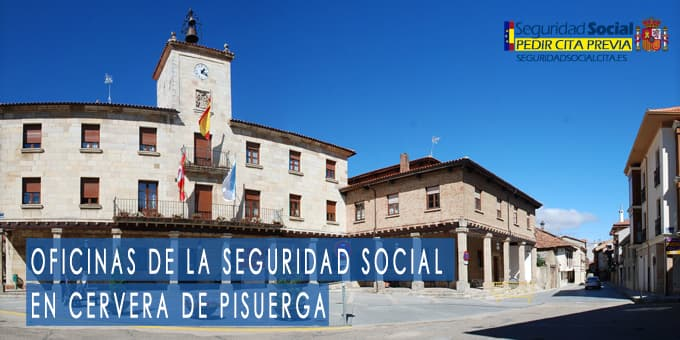 oficina seguridad social Cervera de Pisuerga