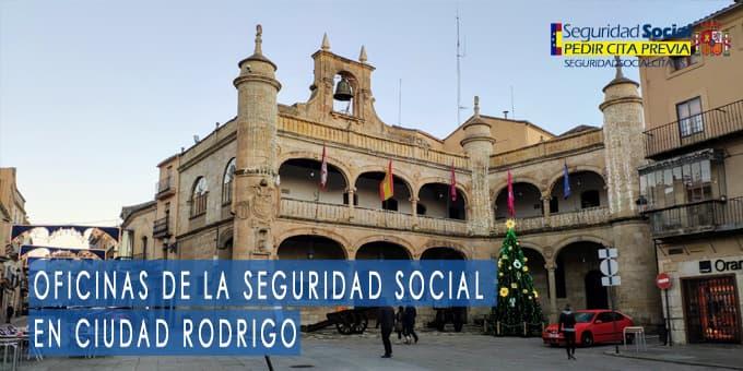 oficina seguridad social Ciudad Rodrigo