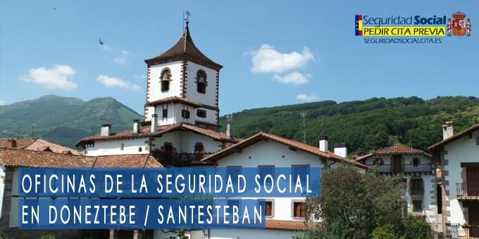 oficina seguridad social Doneztebe-Santesteban
