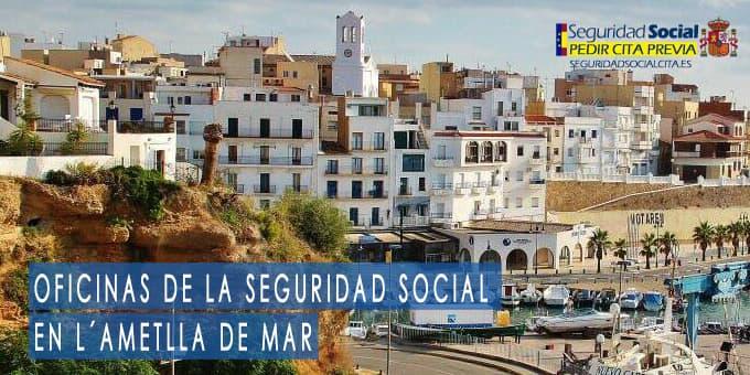oficina seguridad social L´Ametlla de Mar