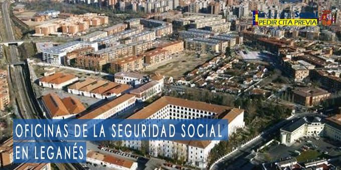 oficina seguridad social Leganés