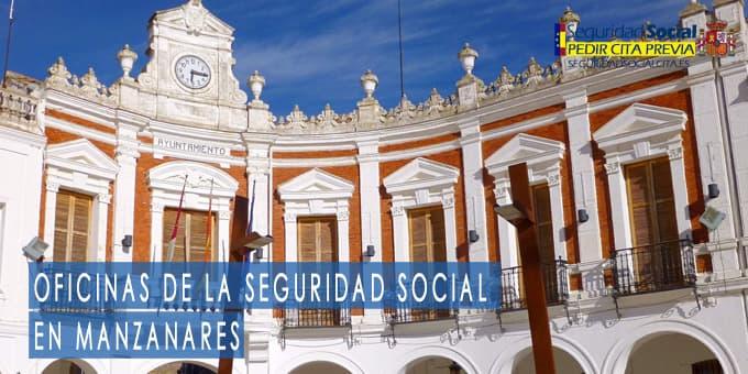 oficina seguridad social Manzanares