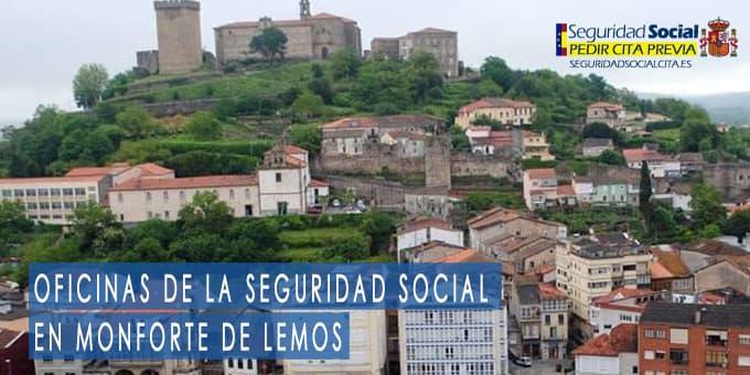 oficina seguridad social Monforte de Lemos