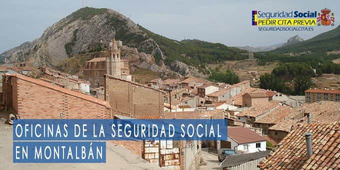 oficina seguridad social Montalbán