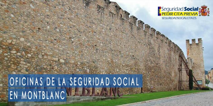 oficina seguridad social Montblanc