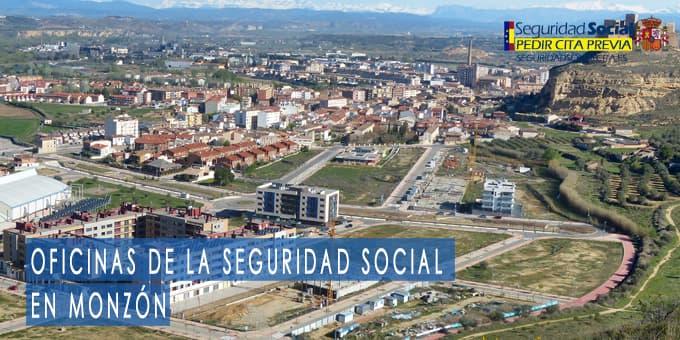 oficina seguridad social Monzón