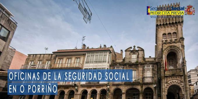 oficina seguridad social O Porriño