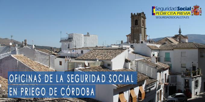 oficina seguridad social Priego de Córdoba