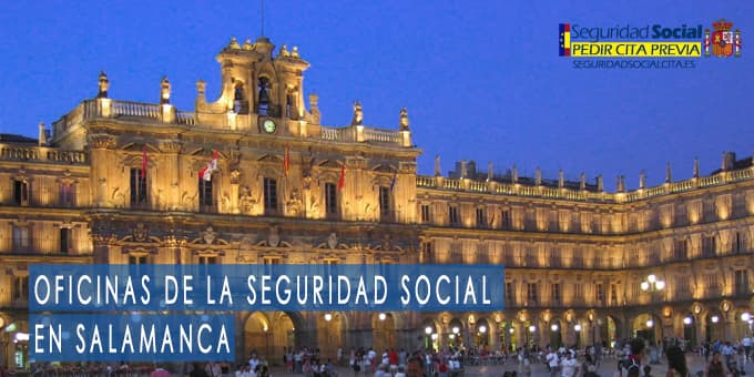 oficina seguridad social Salamanca