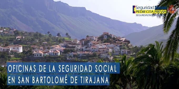 oficina seguridad social San Bartolomé de Tirajana