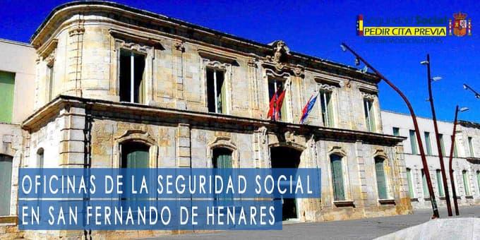 oficina seguridad social San Fernando de Henares