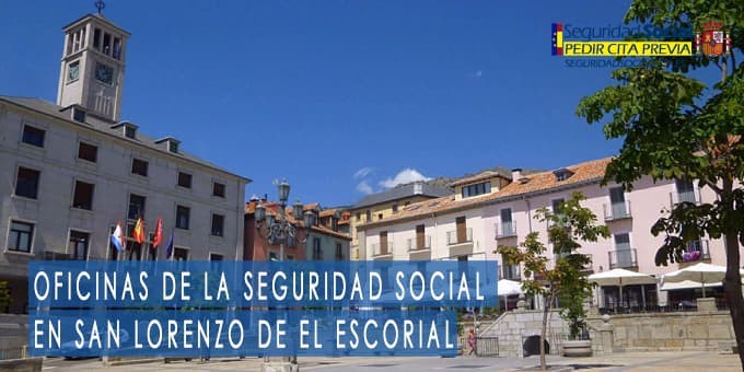 oficina seguridad social San Lorenzo De El Escorial