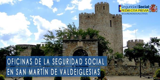 oficina seguridad social San Martín de Valdeiglesias