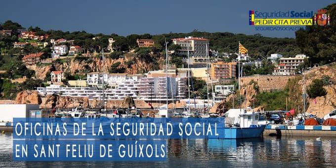 oficina seguridad social Sant Feliu de Guíxols