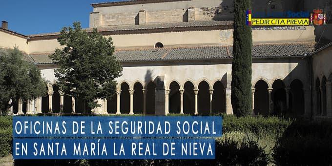 oficina seguridad social Santa María la Real de Nieva