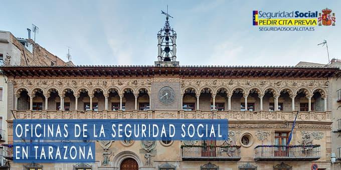oficina seguridad social Tarazona