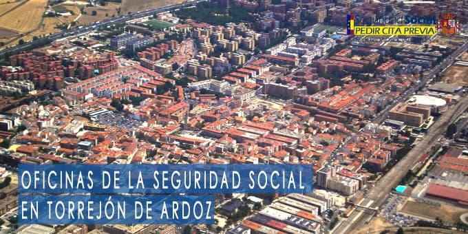 oficina seguridad social Torrejón de Ardoz