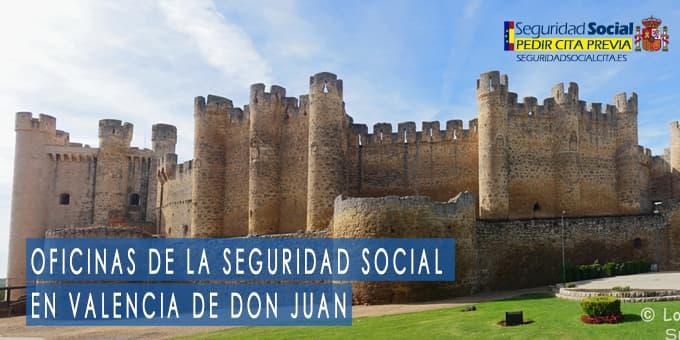 oficina seguridad social Valencia de Don Juan