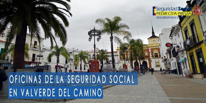 oficina seguridad social Valverde del Camino