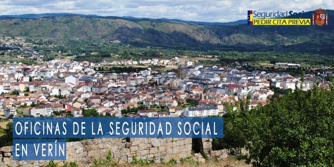 oficina seguridad social Verín
