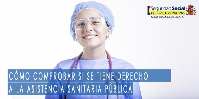 Cómo comprobar si se tiene derecho a la asistencia sanitaria pública