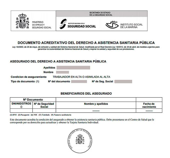 documento acreditativo asistencia sanitaria SEGURIDAD SOCIAL (1)
